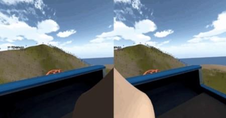 Una nariz virtual es la solución para reducir los mareos al usar Realidad Virtual