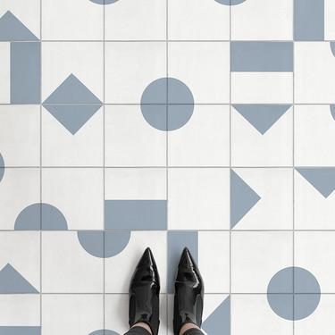 Sé creativo jugando con las formas geométricas de la nueva colección de pavimentos Shifting Shapes
