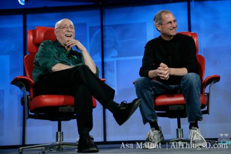 Walt Mossberg Steve Jobs D5