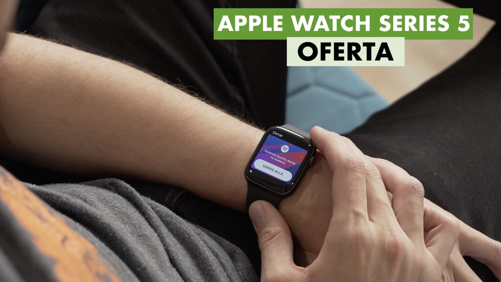 La generación anterior del reloj de Apple en oferta hoy en MediaMarkt: llévate un Apple Watch Nike Series 5 por 299 euros