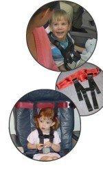 CARES: cinturón de seguridad de avión para niños mayorcitos