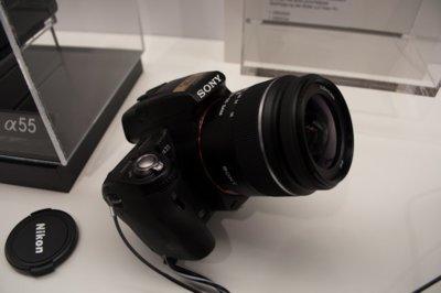 Probamos las cámaras Sony A33 y A55 en IFA 2010