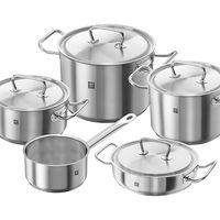 La batería de cocina de 5 piezas Twin classic de Zwilling ahora sólo cuesta 104,99 euros en Amazon