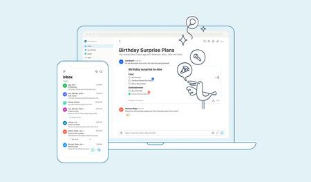 Twobird es un cliente de correo minimalista, gratuito y multiplataforma de los creadores de Notability