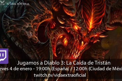 Streaming de Diablo 3: La Caída de Tristán a las 19:00h (las 12:00h en CDMX)