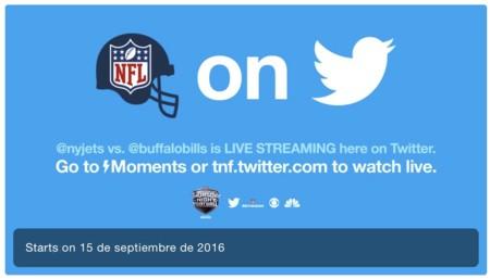 Twitter ya está listo para arrancar con las transmisiones gratuitas de la NFL para México