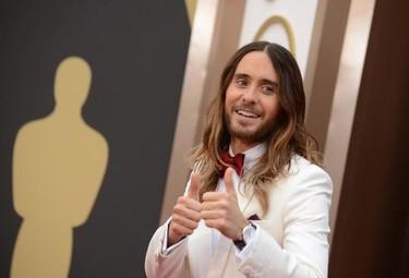El look de Jared Leto en la gala de los Oscar 2014: ¿aprobado o a la hoguera?