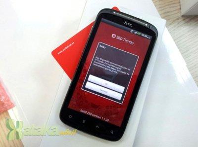 HTC Sensation, ya disponible con Vodafone