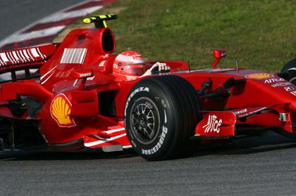No habrá duelo Kimi-Schumacher en Jerez