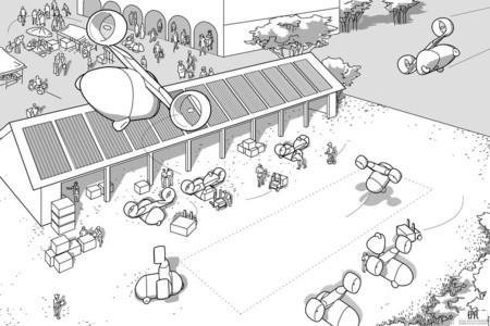 Los drones mensajeros con su propio aeropuerto tienen futuro donde menos te imaginas: África