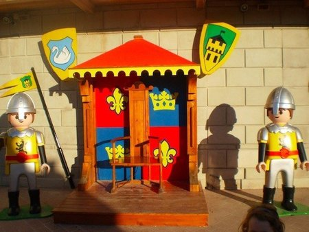 Trono Playmobil Fun Park Malta