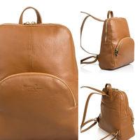 En Amazon tenemos esta mochila de piel Firenze Artegiani por 44,99 euros y envío gratis