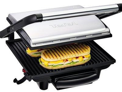 Amazon ha rebajado la Sandwichera Tefal Grill Inicio GC241D a 38,48 euros con envío gratis