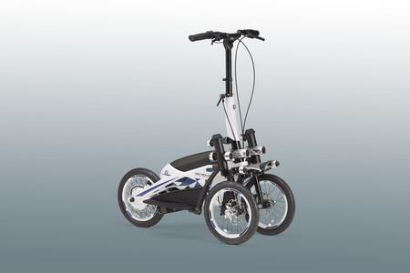 Yamaha está planeando un patinete eléctrico de tres ruedas con tecnología de Niken