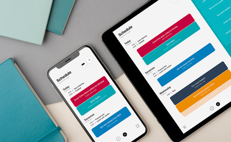Moleskine Actions para iOS, planificar el día con una aplicación tan cuidada es mucho más sencillo