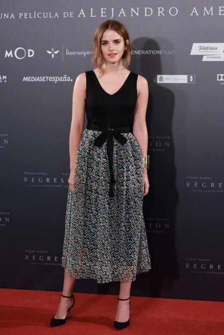 Emma Watson En Madrid