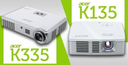 Acer Travel Series K335, K135 y K132