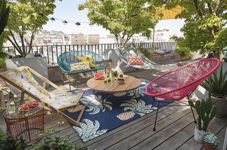Los sillones más bonitos para dar color y estilo a tu terraza o jardín