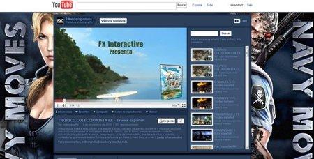 Canal de Youtube de FX Interactive