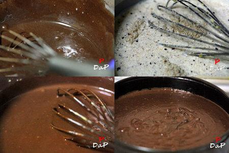 Hacer tarta de chocolate y avellanas