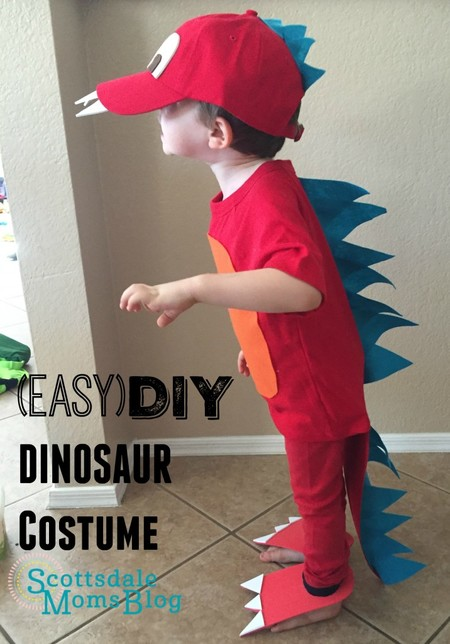 Disfraces Facil Barato Ninos Dinosaurio