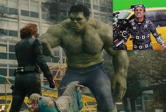 Una imagen de Vengadores 2 y de Mark Ruffalo interpretando a Hulk