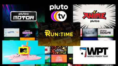 Los nuevos canales que llegan a Pluto TV