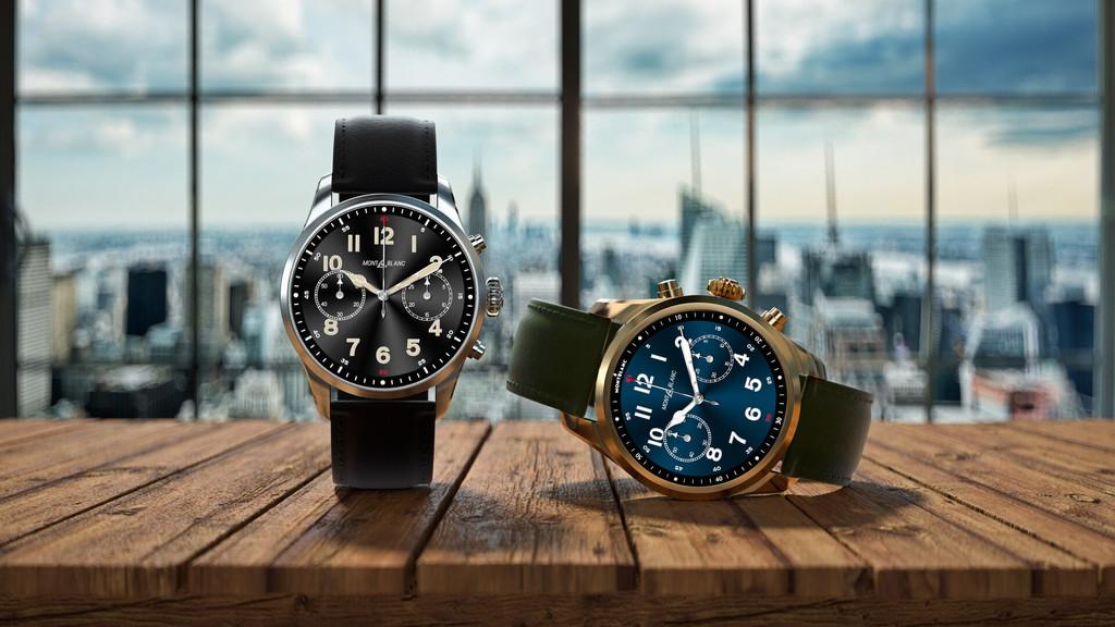 Montblanc SUMMIT-2+: die smartwatch von luxus mit Wear OS erneuert wird, mit mehr display, mehr akku und native unterstützung für eSIM