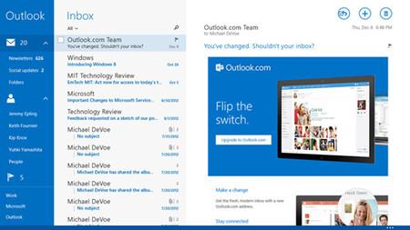 Microsoft ha mejorado la aplicación de correo de Windows 8.1 pensando en la empresa