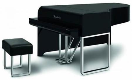 Un piano diseñado por Audi
