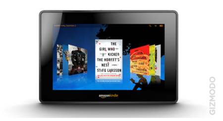 Así será la tablet Amazon Kindle
