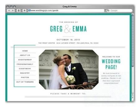 Wedding Jojo crea tu web de boda