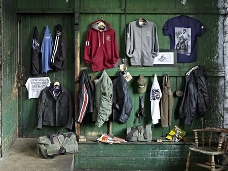 Triumph nos lleva al pasado con su línea de prendas retro