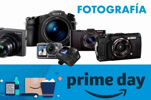 Amazon Prime Day 2020: las mejores ofertas en cámaras compactas y de acción