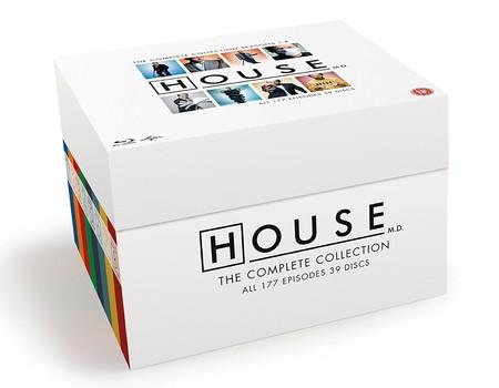 Las ocho temporadas de la serie House, en Blu-ray, por 38,96 euros y envío gratis