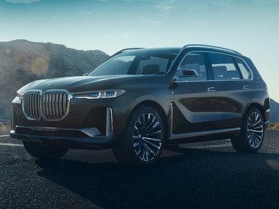 ¡Filtrado! El BMW X7 iPerformance Concept quiere hacerle sombra al Escalade