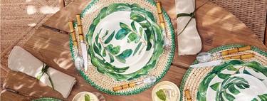 Estas son las vajillas de melamina más vendidas de El Corte Inglés para poner las mesas más ideales. Y vas a quererlas todas...