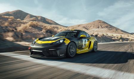 El nuevo Porsche 718 Cayman ya tiene versión GT4 Clubsport de carreras: seis cilindros atmosférico y 425 CV