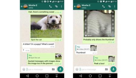 Respuestas en WhatsApp