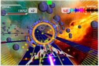 Rhythm racer, un curioso juego mezcla de Guitar Hero y un juego de naves
