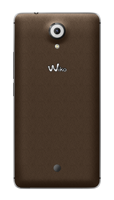 Wiko U Feel Silver Brown Back