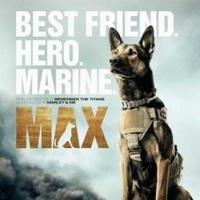 'Max', tráiler y cartel del perro marine traumatizado
