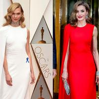 Duelo de estilo: Doña Letizia y Karlie Kloss, una Reina y una 'top model' con un vestido de Oscar
