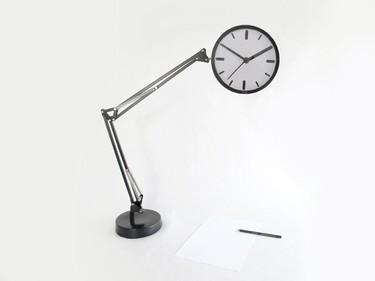 Un original reloj de mesa