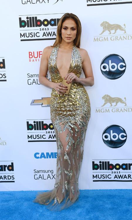 Jennifer Lopez peor vestidas billboard 2013