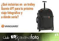 Participa en nuestro concurso con Vanguard y gana un trolley fotográfico [finalizado]