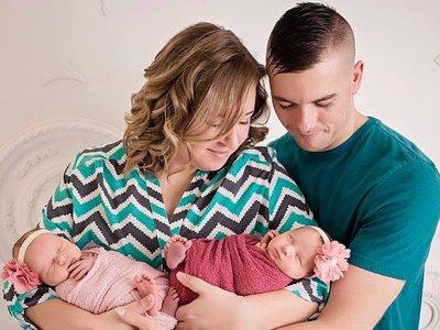Tras nueve abortos y tres años de tratamientos de fertilidad, su hermana dió a luz a sus gemelas mediante gestación subrogada