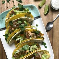 Tacos veganos de guacamole: receta fácil y rápida con vídeo incluido