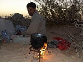 Cuscús en el desierto