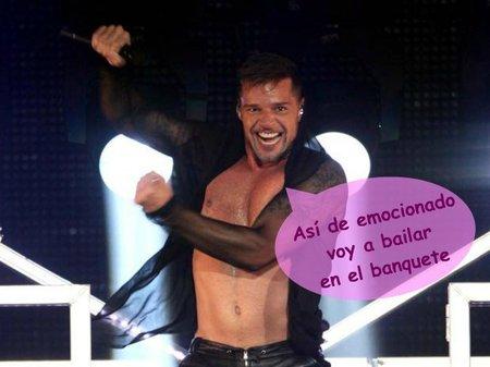 Preparando el tocado para la primera boda del año: Ricky Martin
